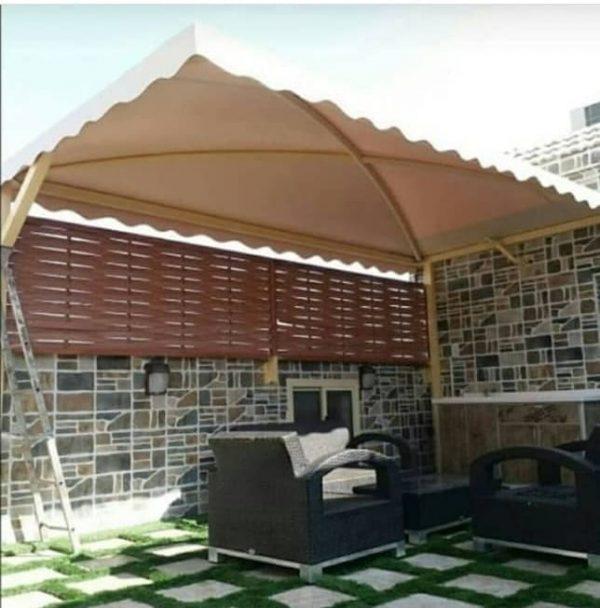 مظلات وسواتر حي اليرموك